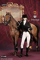 女性騎手&乗用馬 1/6 アウトフィット&アクセサリー Bセット(MF004B)