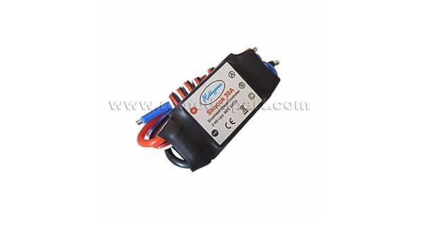 da8b18fb5ab2 Amazon | SimonK 30A ESCブラシレススピードコントローラー 2-4S 適用マルチコプターF450 F550 X525 (1PCS)  | ラジコン・ドローン 通販