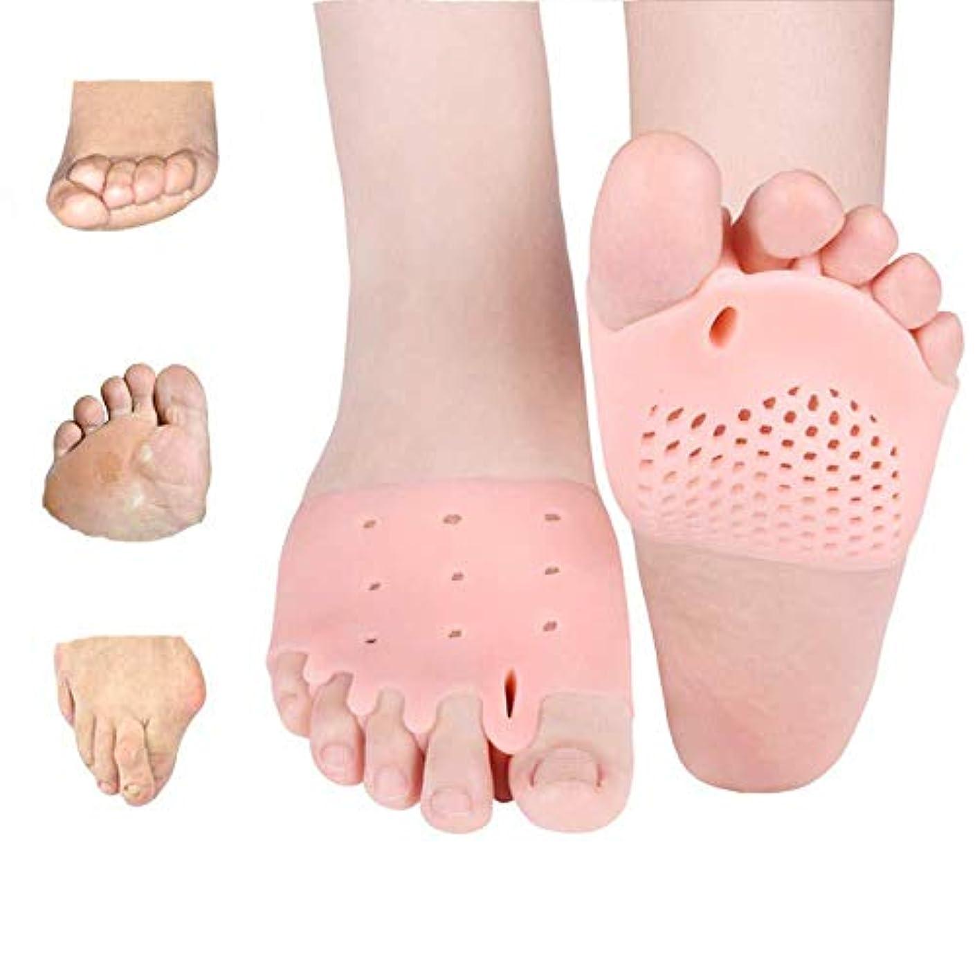 少数代替案満了親指の炎症、つま先セパレーターキット-ナイトバニオンの外反母hallスプリントと外反母ofの緩和-男性と女性用