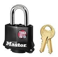 Master Lock 311D Black Outdoor Padlock by Master Lock [並行輸入品]
