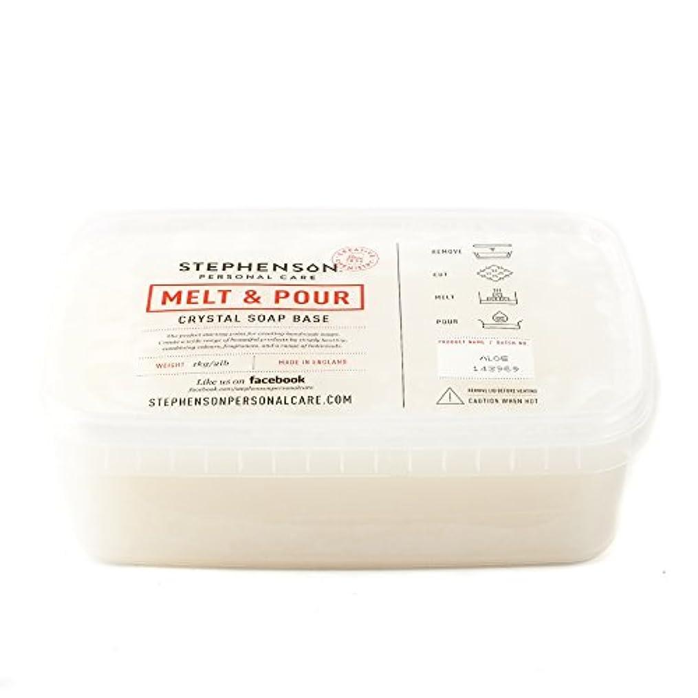 出血該当する下にMelt and Pour Soap Base - Aloe Vera - 1Kg