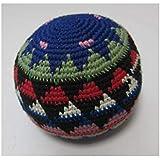 【グアテマラ産 ハッキーサック フットバッグ 大サイズ 】ビッグサイズのお手玉 フットバッグ ボール(1個) アソート