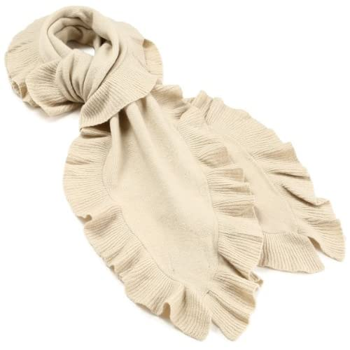(ショーケイ)SHOKAY ラッフルスカーフ AC-SC-RU AL オフホワイト One size