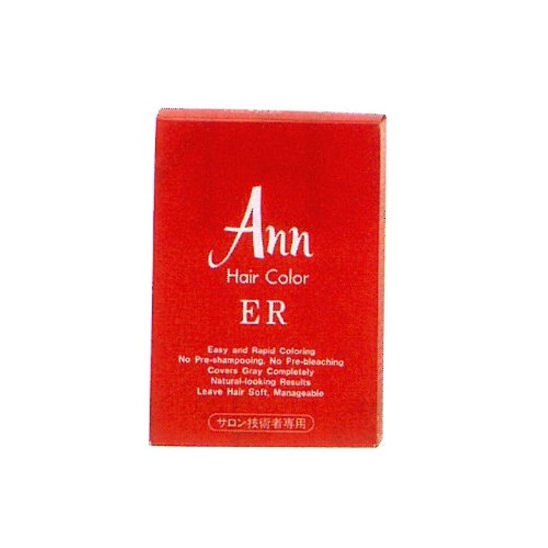 間接的鮮やかな検証アン ヘアカラー ER 38E(赤味のある明るい栗色)