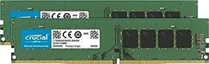 Crucial(Micron製) デスクトップPC用メモリ PC4-21300(DDR4-2666) 8GB×2枚 CL19 SRx8 288pin CT2K8G4DFS8266
