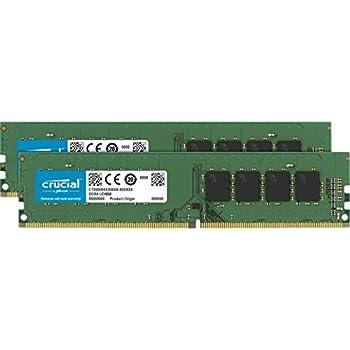 Crucial [Micron製] DDR4 デスクPC用メモリー 8GB x2 ( 2133MT/s / PC4-17000 / CL15 / 288pin / DR x8 Unbuffered DIMM ) 永久保証 CT2K8G4DFD8213