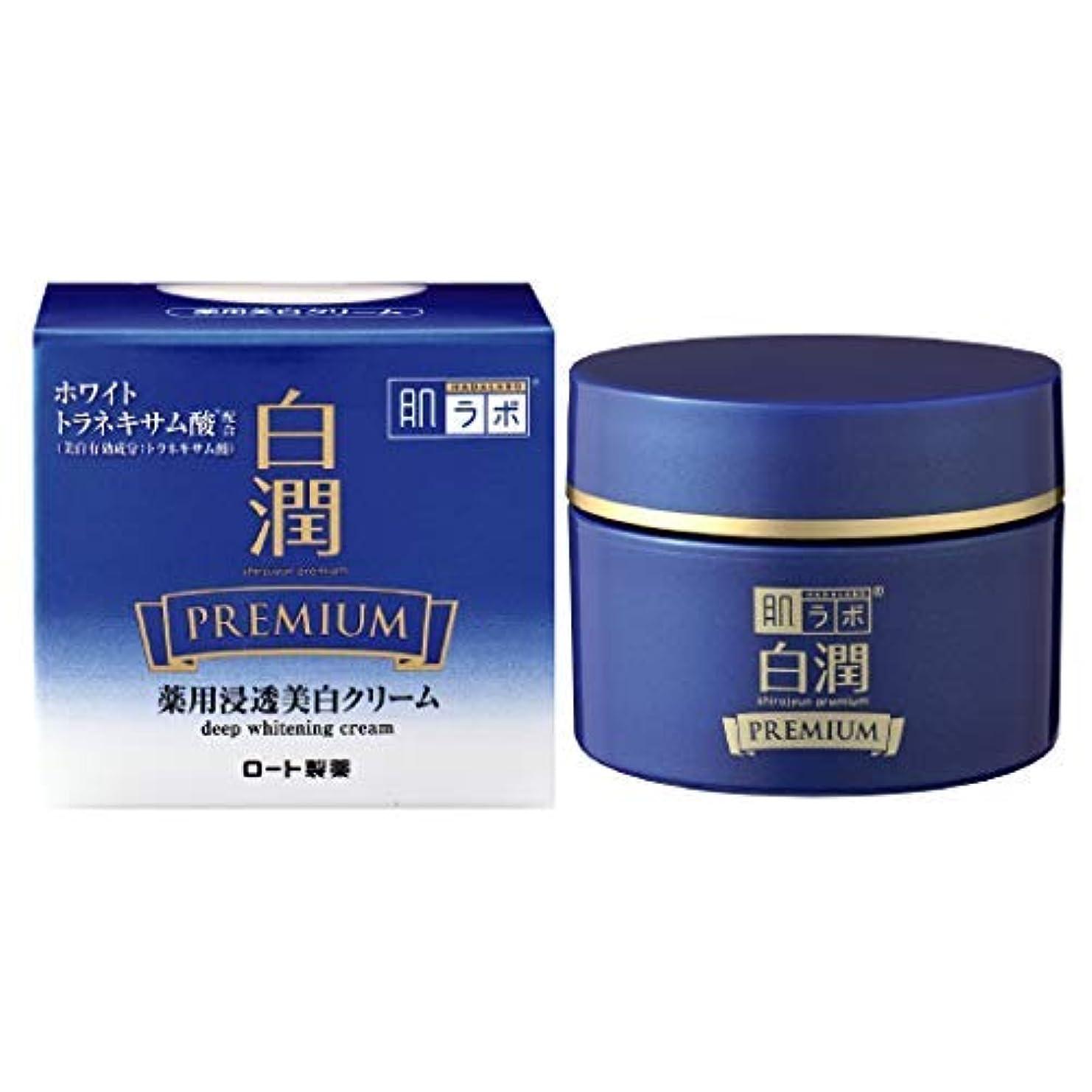 単語暖かく韓国語肌ラボ 白潤プレミアム 薬用浸透美白クリーム × 6個セット