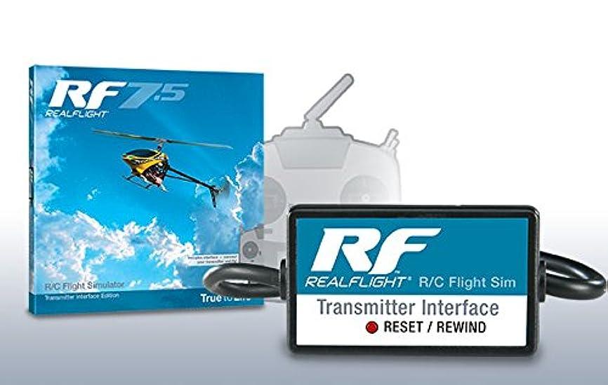 血パノラマ荒野リアルフライト7.5 インターフェイスエディション(DVD付属)+フタバ 10J (10ch-2.4GHz T-FHSS AIRモデル)ドローン用TRセット(フルスプリング仕様)