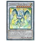 遊戯王 英語版・北米版(YUGIOH)  白 STARDUST SPARK DRAGON(U)(閃光竜 スターダスト)
