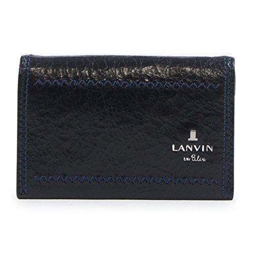 (ランバンオンブルー)LANVIN en Bleu カードケース 557602 ゼウス 【01】ブラック