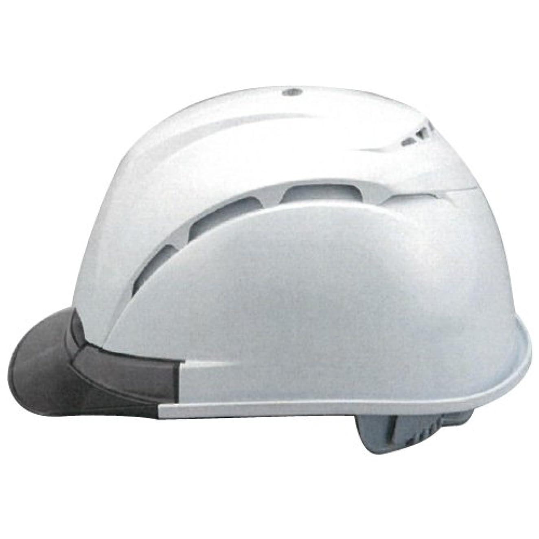 あまりにもカイウス債務者TOYO 通気孔付きヘルメットVentiNEO(帽体色?白-ひさし?スモーク) ※取寄品 393F-S