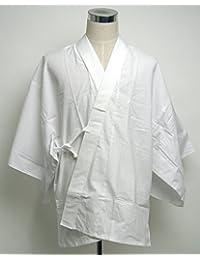 半襦袢(白衣用)紐つき 合用 カケ衿付替自由 (L)