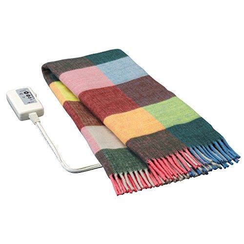 広電(KODEN) 電気ひざ掛け毛布(140×82cm) グリーン