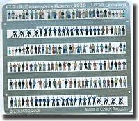 1:350 Passenger Figures 1920 Eduard Photoetch.