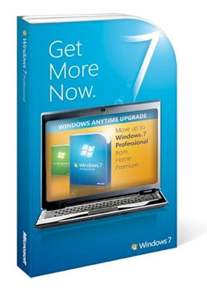 フィラデルフィア混雑損なう【英語】Microsoft Windows Anytime Upgradeパック Home PremiumからProfessional