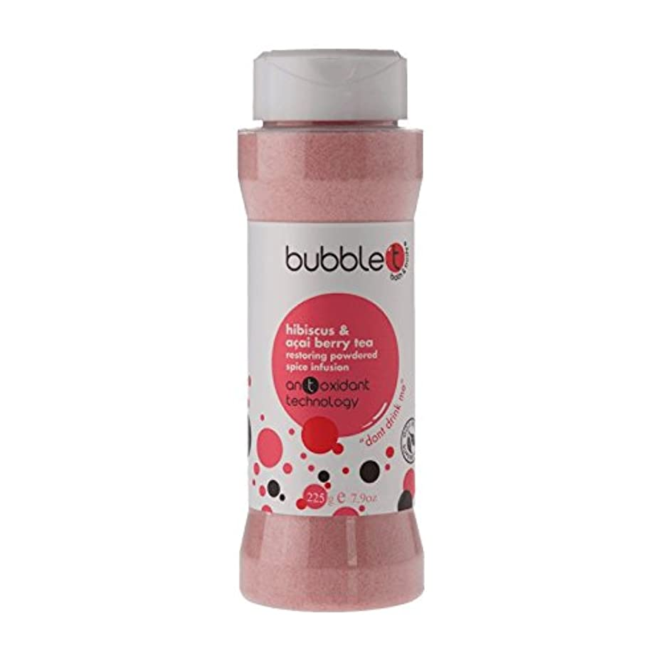 パックステレオショットバブルトン風呂スパイス注入ハイビスカス&アサイベリー茶225グラム - Bubble T Bath Spice Infusion Hibiscus & Acai Berry Tea 225g (Bubble T) [並行輸入品]