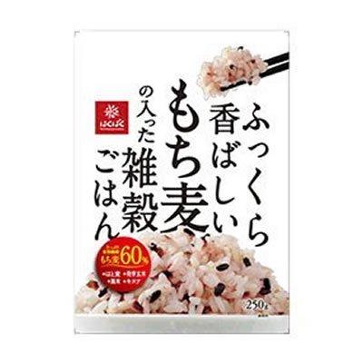 はくばく ふっくら香ばしいもち麦の入った雑穀ごはん 250g