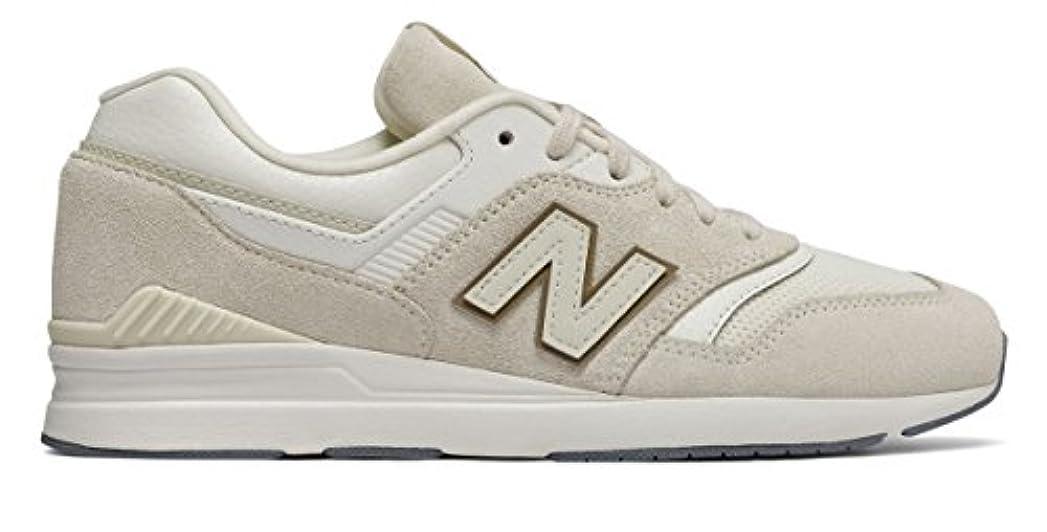 ミスペンド栄養酸化する(ニューバランス) New Balance 靴?シューズ レディースライフスタイル Leather 697 Moonbeam US 7.5 (24.5cm)