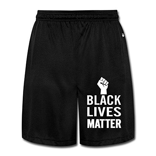 デレス ハーフパンツ Black Lives Matter 黒人の生命は大切だ ショーツ おもしろい メンズ スポーツ Black