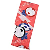 [KIMONOMACHI] 浴衣セット「ピンク 橋に万寿菊」F(フリー) 女性浴衣セット