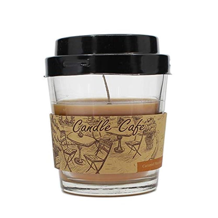 太いあごひげアルプスコーヒーカップCandle Glass Jar Scented Candle ベージュ