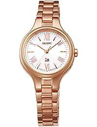 [オリエント]ORIENT 腕時計 iO イオ ナチュラル&プレーン ソーラー電波 ホワイト WI0141SD レディース