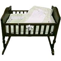 Baby Doll Bedding Royal Pique Crib Bedding Set, Sage by BabyDoll Bedding