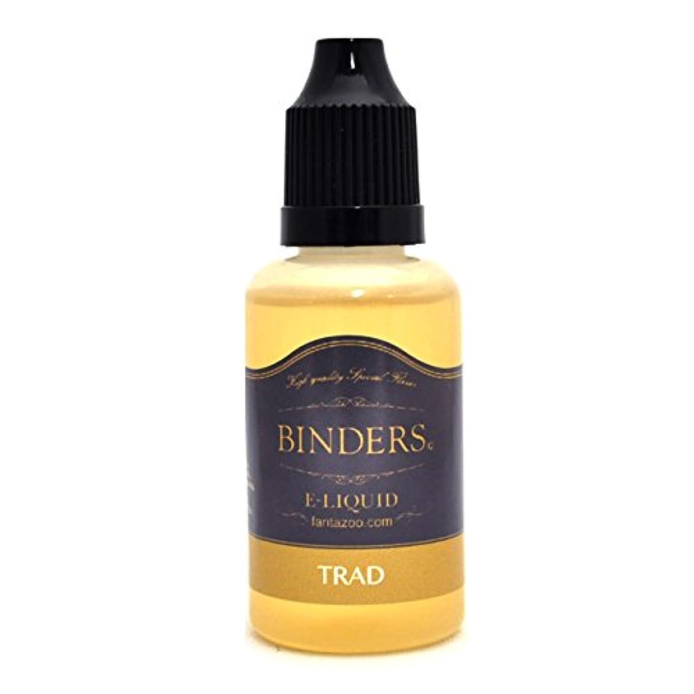 違法オアシス近くBINDERSビンダース 電子タバコ?VAPE用リキッド(国産) タバコ風味 トラッド 30ml