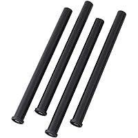 山善(YAMAZEN) 組合せフリーテーブル用専用脚4本セット ブラック AMDL-70(BK)