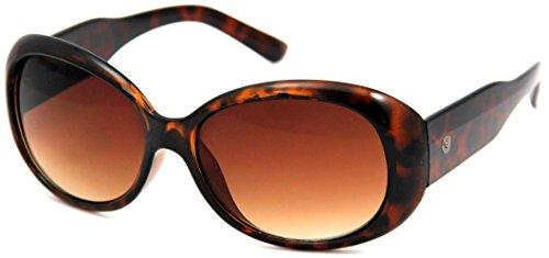 EDWIN サングラス UVカット カラーレンズ バタフライ ブラウンデミ MED-022-8