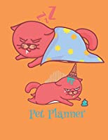 Pet Planner: Cat and Fish Pet Health Planner for Pet Owners and Pet Sitters