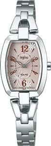[アルバ]ALBA 腕時計 ingenu アンジェーヌ トノー フラワー ソーラー 日常生活用強化防水 (10気圧) AHJD058 レディース