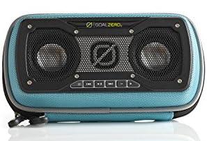 Goal Zero Rock Out 2 Solar Speaker - Tealソーラーパネル搭載 Bluetoothポータブルスピーカー 正規代理店アスク扱い SP562 94015