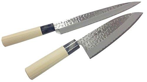 ヤクセル『関藤平作 鎚起(ついき) 2本組セット 【刺身・出刃】 30056』