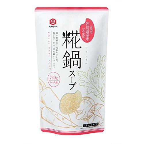 宮島醤油 糀鍋スープ 720g