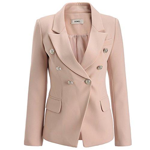 [해외]AOMEI 여성 테일러드 재킷 짧은 재킷 사무실 통근 슈트 포멀 입학식 입원 식 졸업식/AOMEI Ladies Tailored Jacket Short Blazer Office Commuter Suit Formal Entrance Ceremony Entrance Ceremony Graduation Ceremony