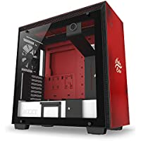 NZXT H700 Nuka Cola Mid Tower コンピューターケース レッド/ブラック (CA-H700B-NC)