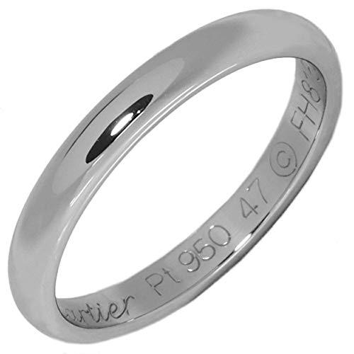 [カルティエ]Cartier Pt950 クラシックウェディングリング(1895ウェディングリング)(2.5ミリ) 指輪 #47(7号) B40125 中古