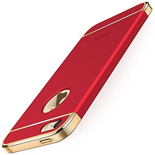 KYOKA iPhone SE 5 5s ケース メッキ加工...