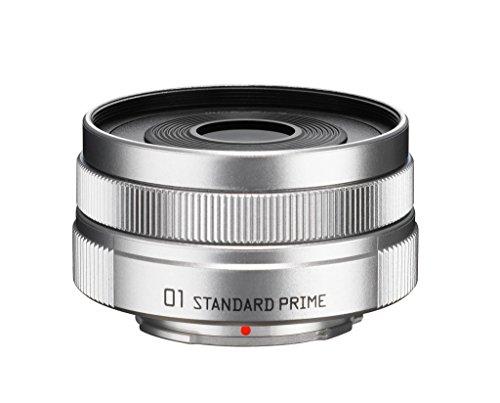 PENTAX 標準単焦点レンズ 01 STANDARD PRIME ブライトシルバー Qマウント 23297