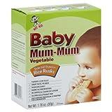 Babies Kids Best Deals - Hot Kid, Baby Mum-Mum Vegetable Rice Rusks, 24 Rusks, 1.76 oz (50 g)