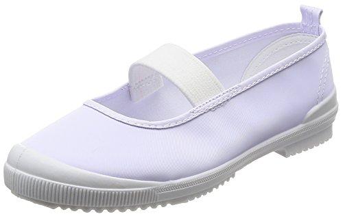 [アキレス] 上履き 日本製 洗濯機洗い可 14~28cm 2E 男の子 女の子 ホワイト 19 cm