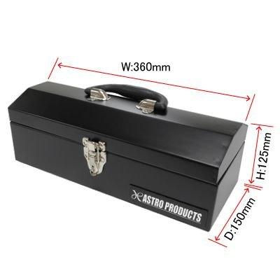 【アストロプロダクツ】AP 山型ツールボックス ショート ブラック BX627