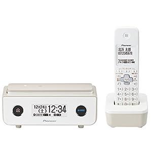 パイオニア Pioneer TF-FD35W デジタルコードレス電話機 子機1台付き/迷惑電話防止 マロン TF-FD35W(TY) 【国内正規品】
