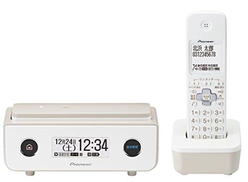 RoomClip商品情報 - パイオニア TF-FD35W デジタルコードレス電話機 子機1台付き/迷惑電話防止 マロン TF-FD35W(TY)