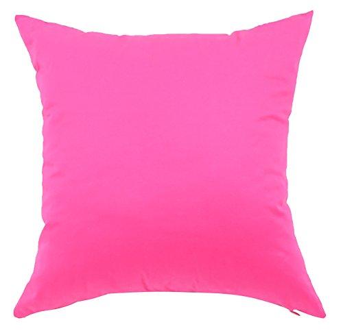 正方形/長方形キャンディカラープリントクッションカバーCHEZMAXコットンスローピロSlipover Pillowslip枕カバーホームソファソファ寝具椅子シートバック