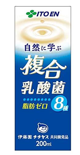 伊藤園 自然に学ぶ 複合乳酸菌 紙パック 200ml ×24本