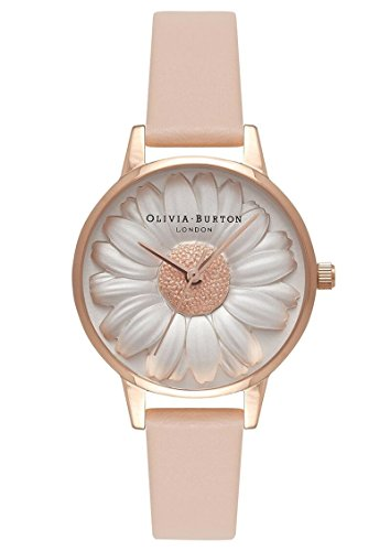 [해외](올리비아 버튼) Olivia Burton 여성 시계 MOULDED DAISY NUDE PEACH &  ROSE GOLD OB16FS87 (병행 수입품) dabuying/(Olivia Burton) Olivia Burton Women`s Clock MOULDED DAISY NUDE PEACH & ROSE GOLD OB 16 FS 87 (Parallel import goods) dabu...