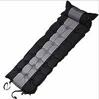 YMXLJJ自動インフレータブルクッションは、組み立てることができます、PVC、スポンジ、防湿、昼休み、シングル、厚い5センチメートル、枕、インフレータブルスリーピングパッド