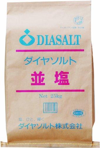 ダイヤソルト 並塩 25kg